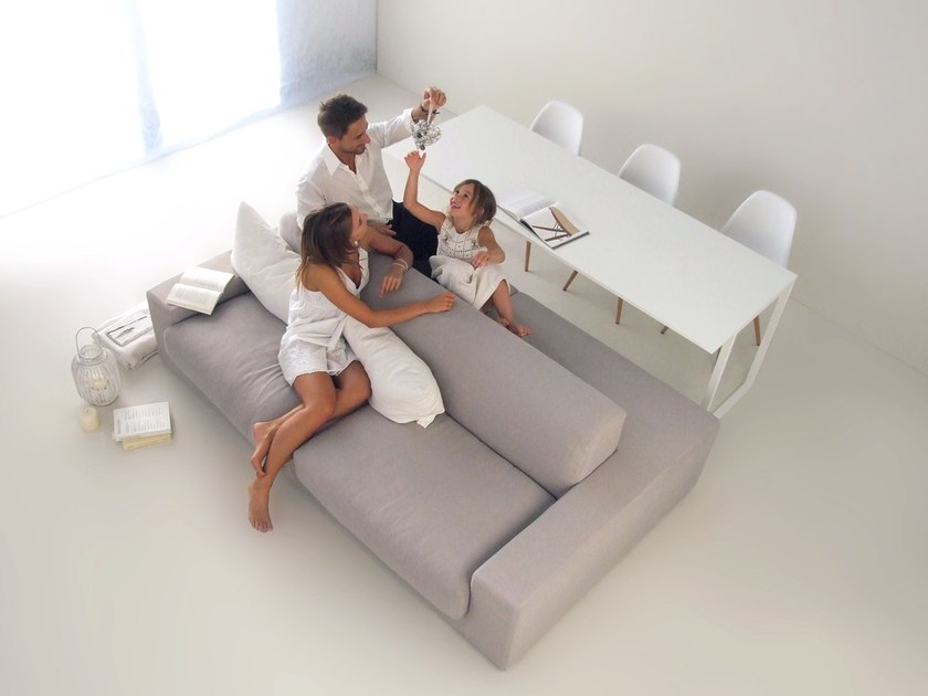 Sofa / table ISOLAGIORNO™ CLASS+SLIM - LAYOUT ISOLAGIORNO™ by Farm