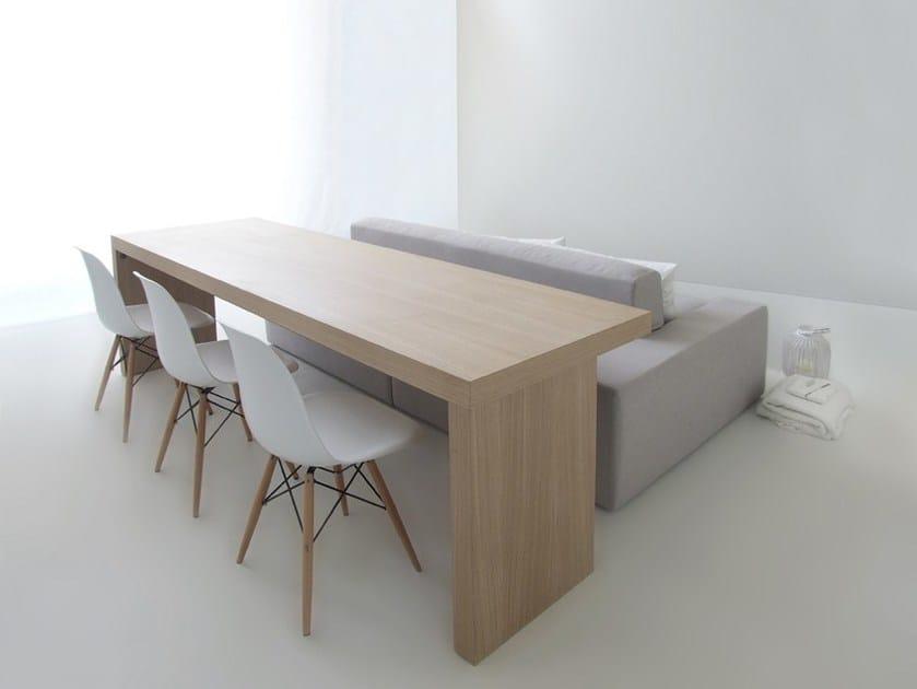 Divano / tavolo ISOLAGIORNO™ CLASS+SOLID - LAYOUT ISOLAGIORNO