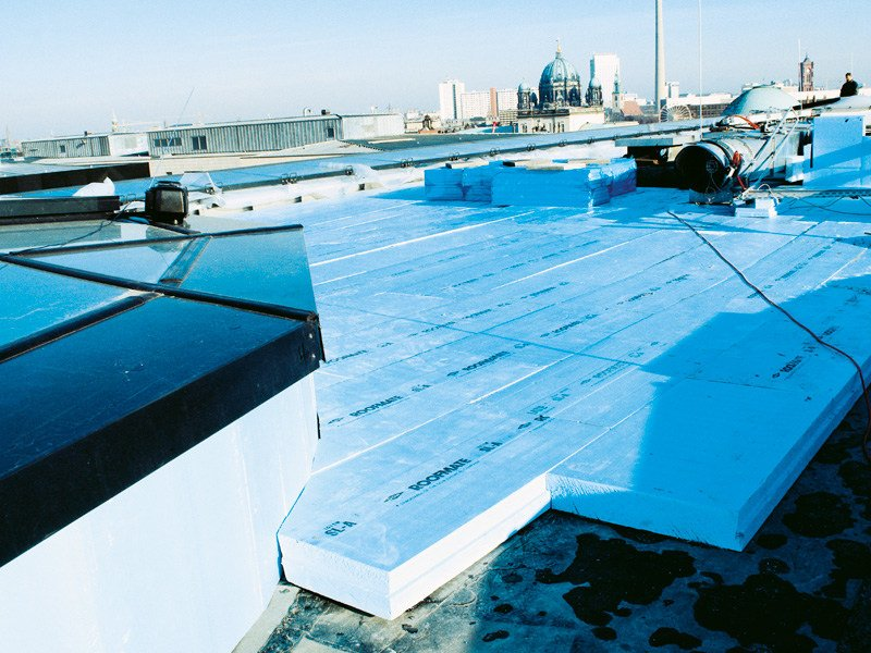 XPS thermal insulation panel ROOFMATE SL by DOW Building Solutions