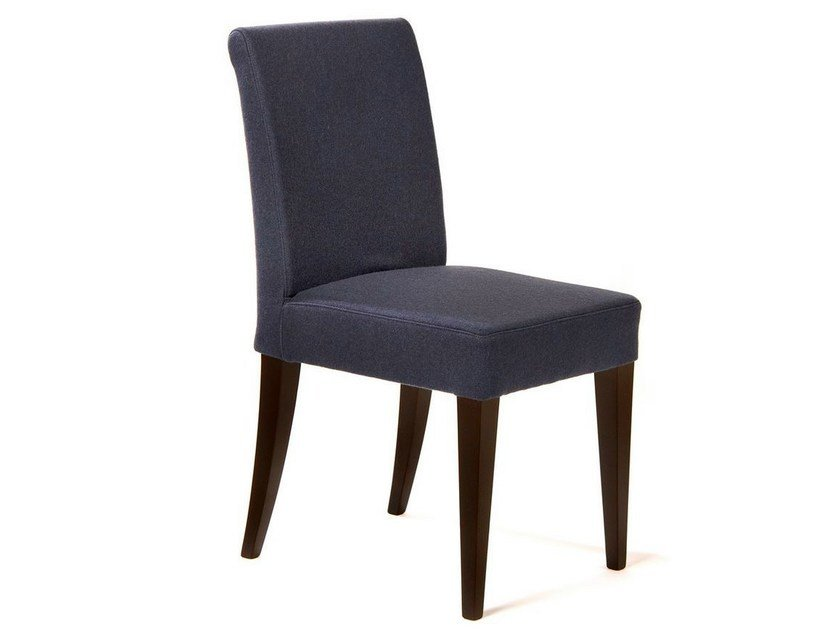 Upholstered solid wood chair RIVE GAUCHE | Chair - Adentro