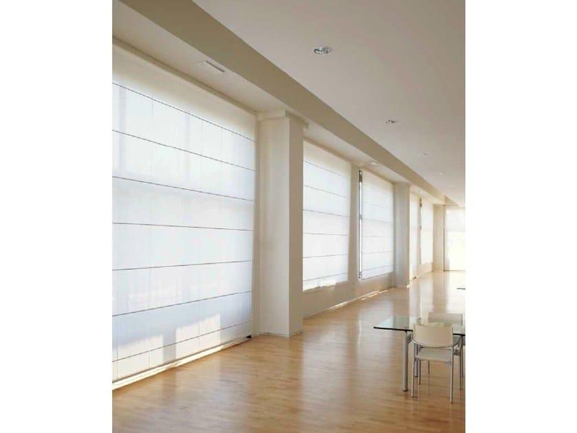 Roman blinds headrail SOFTBOX 467 by Mottura