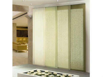 Panel curtains headrail NIPPO FUTURA - Mottura Sistemi per tende