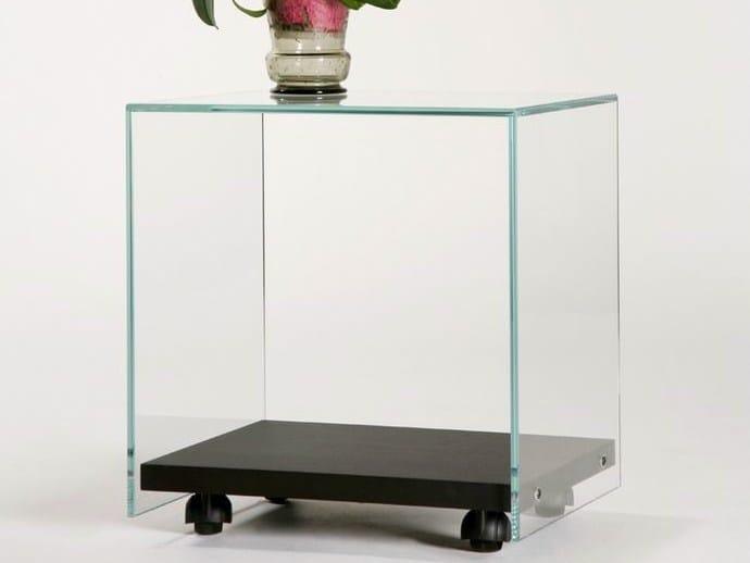 Side table on castors SIDE - ZEN 4 - Adentro