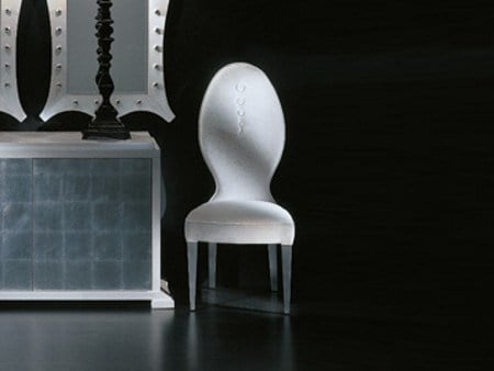 Upholstered chair MIXT BOUTONEE - Transition by Casali
