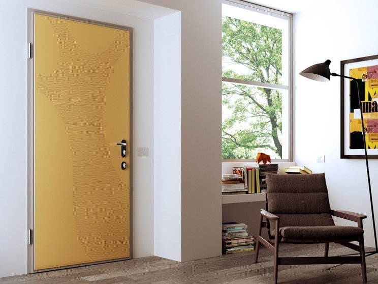 Armoured door panel DIBIVISUAL - DI.BI. PORTE BLINDATE