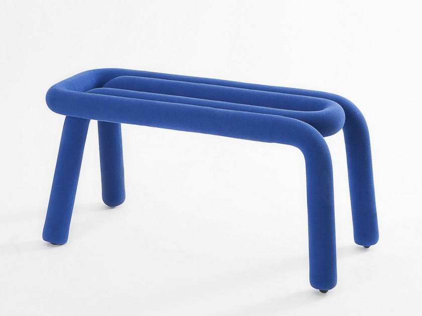 Upholstered polyurethane bench BOLD | Bench - Moustache