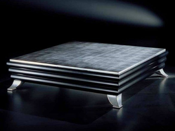 Low square coffee table for living room MIAMI - Transition by Casali