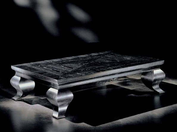 Low rectangular coffee table for living room DIANA by Transition by Casali