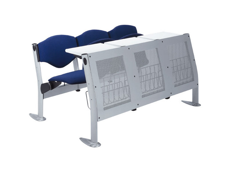 Modular bench desk with integrated chairs OMNIA BEAM - Ares Line