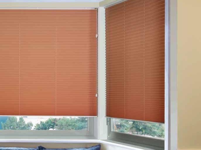 Pleated blind PLÌ 353/1 - Mottura Sistemi per tende