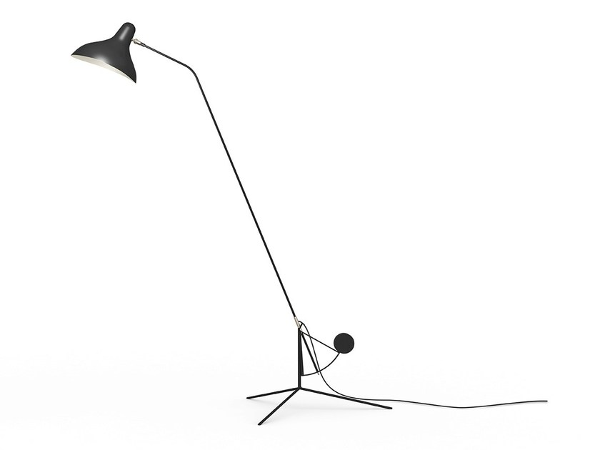 Adjustable floor lamp BS1 by DCW éditions