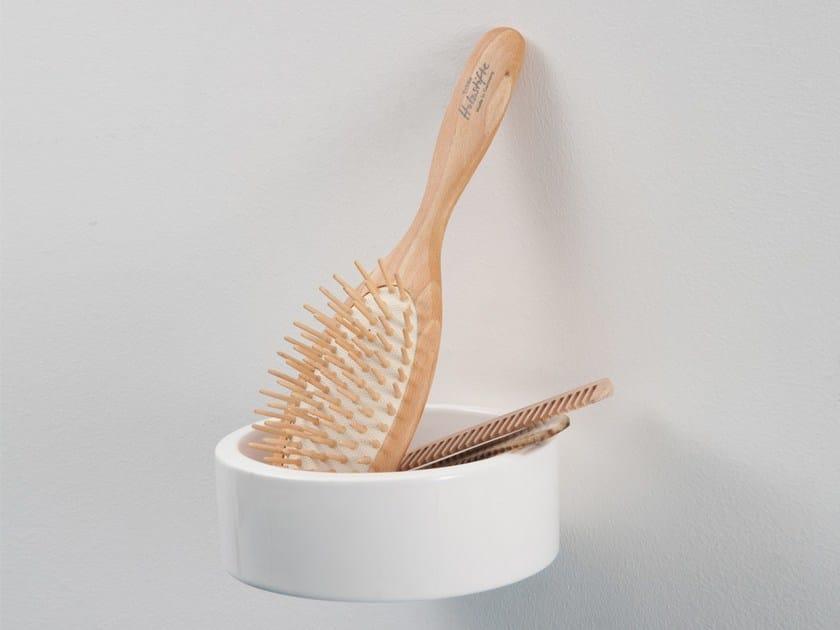Ceramic pin tray BÉNITIER | Ceramic pin tray - Moustache