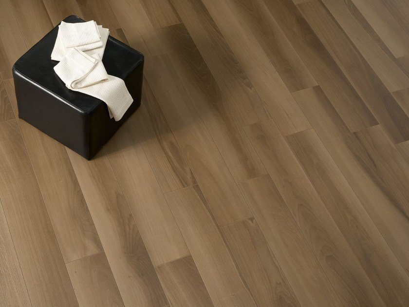 Wall/floor tiles with wood effect LIFE WALNUT by Ceramiche Caesar
