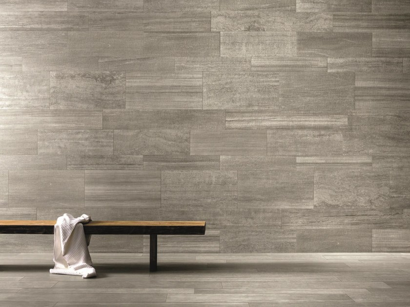 Wall/floor tiles with stone effect VERSE CLOUD - Ceramiche Caesar