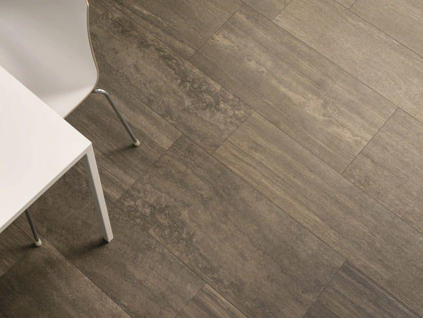 Wall/floor tiles with stone effect VERSE CHESTNUT - Ceramiche Caesar