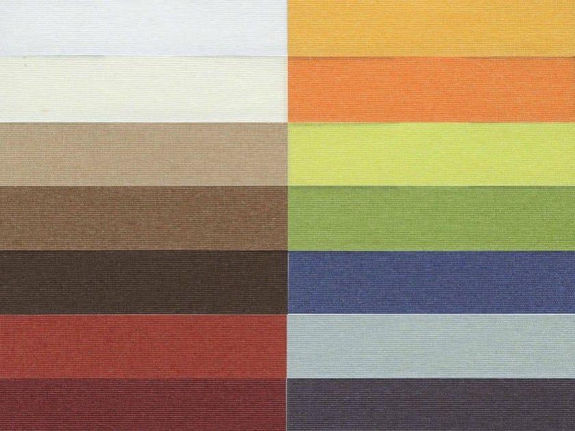 Fire retardant pleated Trevira® CS fabric for curtains AMBIENTE F.R. - Mottura Sistemi per tende