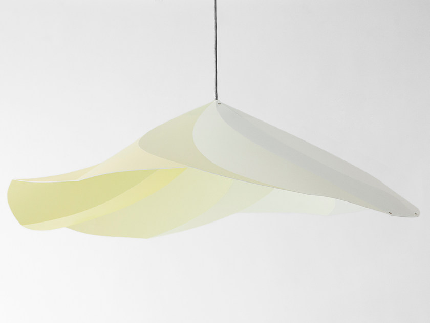 Polypropylene pendant lamp CHANTILLY | Pendant lamp - Moustache