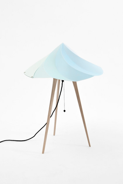Polypropylene table lamp CHANTILLY LARGE - Moustache