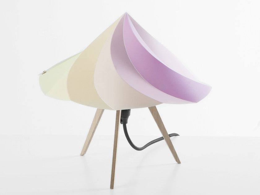 Polypropylene table lamp CHANTILLY SMALL - Moustache
