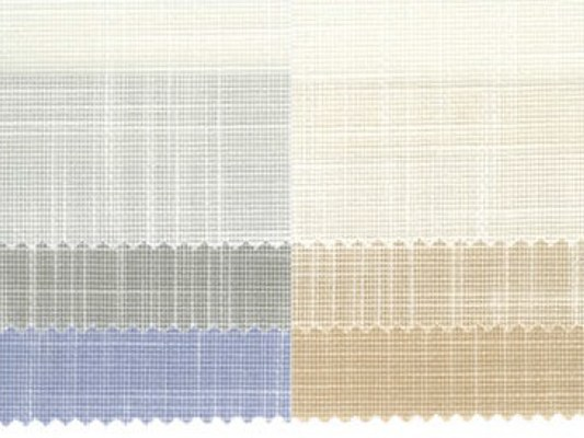 Fire retardant polyester fabric for curtains CROSS F.R. - Mottura Sistemi per tende