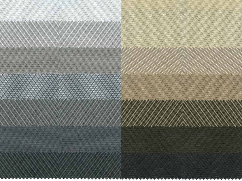 Fire retardant PVC fabric for curtains SCREEN G2 F.R. - Mottura Sistemi per tende