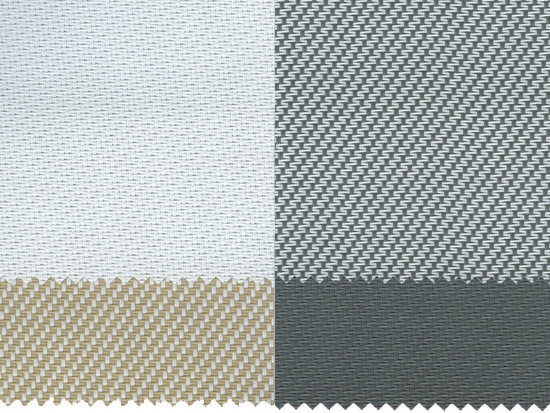 Fire retardant PVC fabric for curtains SCREEN G1 F.R. - Mottura Sistemi per tende