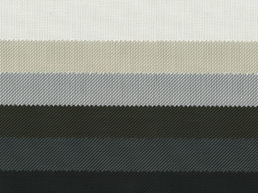 Fire retardant PVC fabric for curtains SCREEN P2 F.R. - Mottura Sistemi per tende