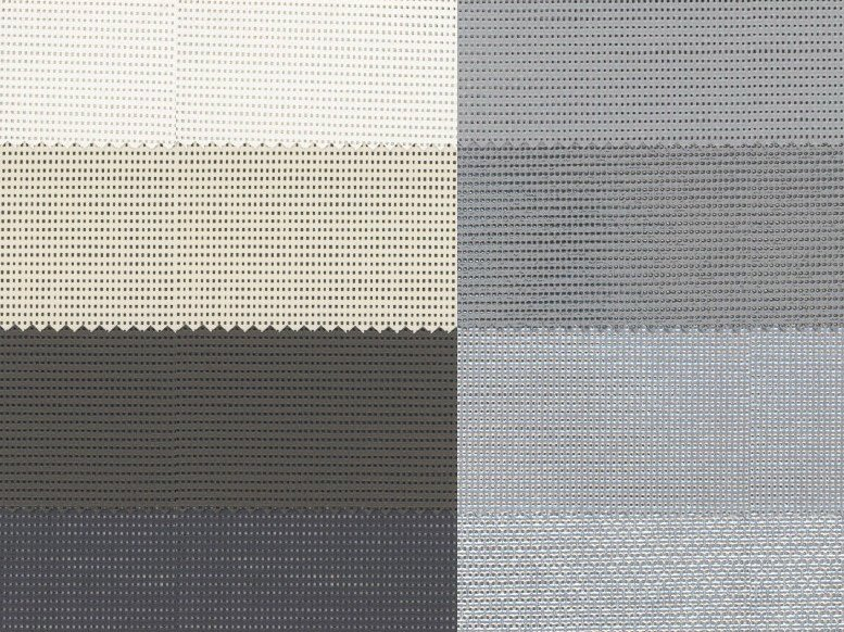 Fire retardant dimming PVC fabric for curtains SOLTIS 86 F.R. - Mottura Sistemi per tende