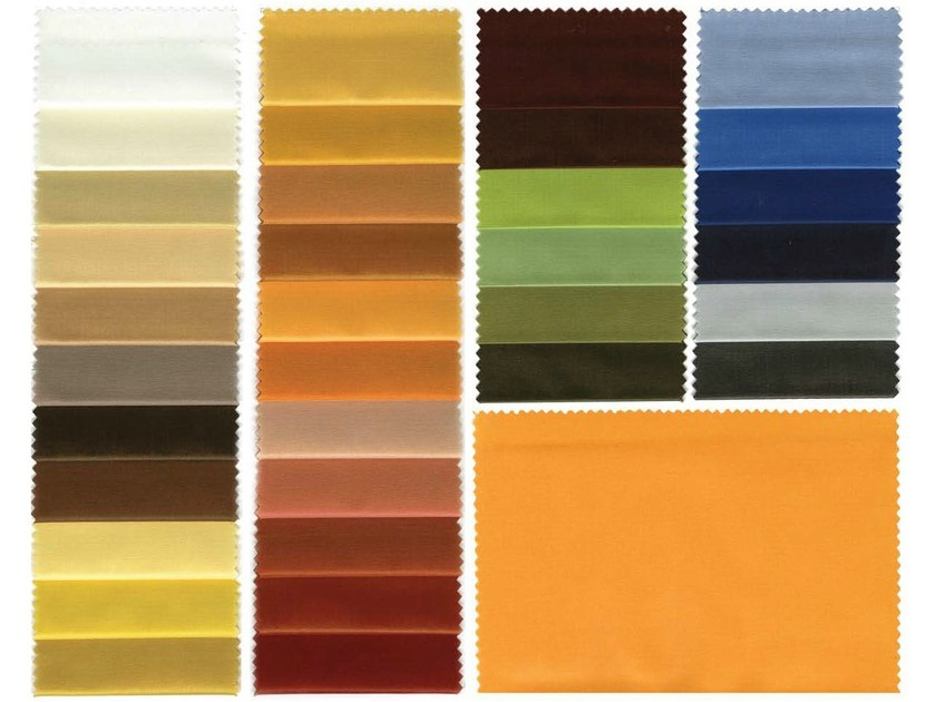 Fire retardant polyester fabric for curtains CARIBE F.R. - Mottura Sistemi per tende