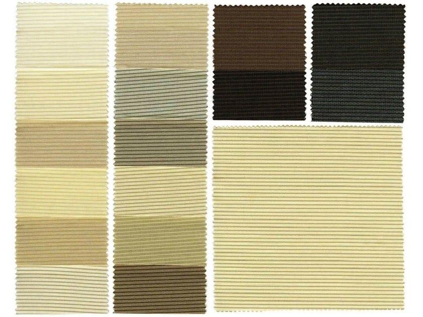 Fire retardant polyester fabric for curtains DELFI F.R. - Mottura Sistemi per tende