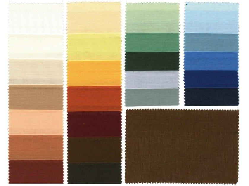 Fire retardant polyester fabric for curtains DELTA F.R. - Mottura Sistemi per tende