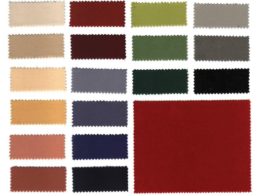 Fire retardant velvet fabric for curtains PALCO - Mottura Sistemi per tende