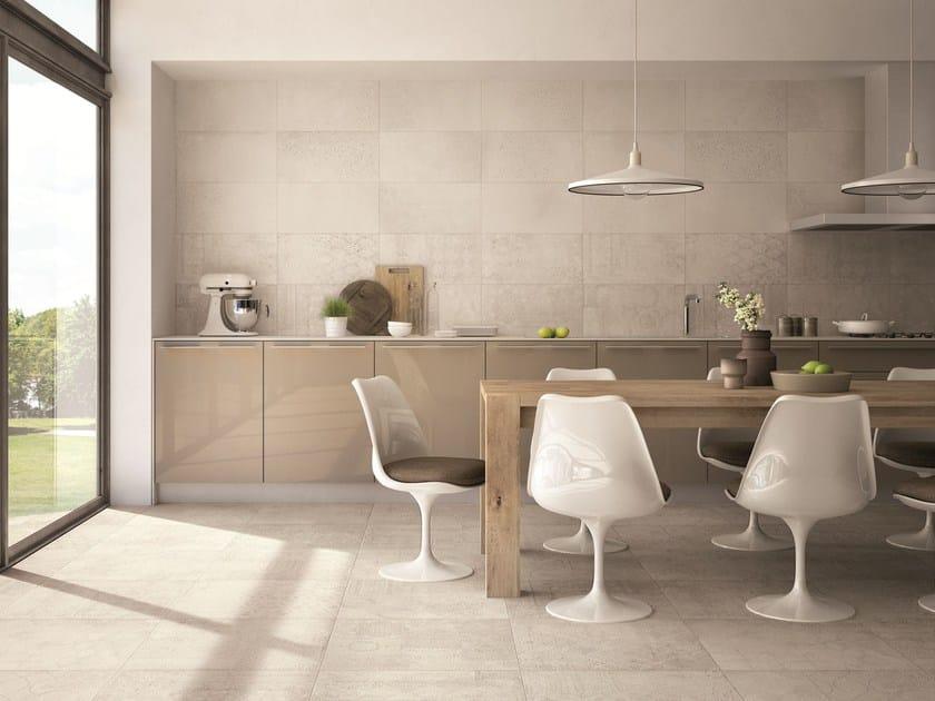 rev tement de sol mur en gr s c rame effet b ton cement stone by grestec tiles. Black Bedroom Furniture Sets. Home Design Ideas