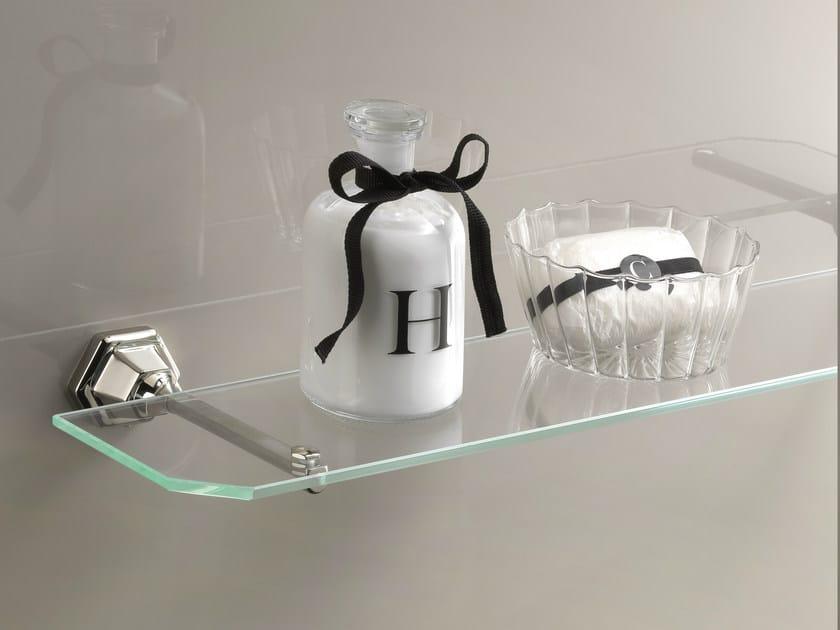 Crystal bathroom wall shelf JUBILEE | Bathroom wall shelf - Devon&Devon