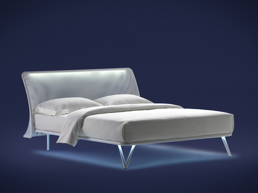 Iron bed ESSENTIA | Double bed - Flou
