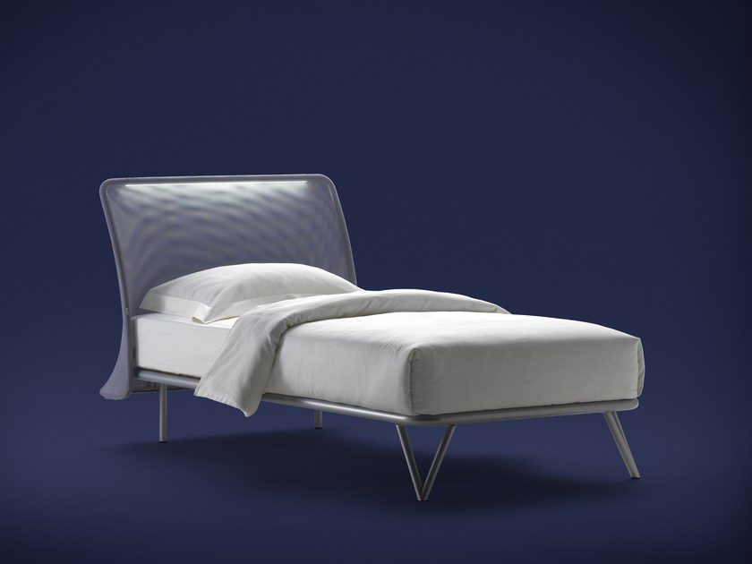 Iron bed ESSENTIA | Single bed - Flou