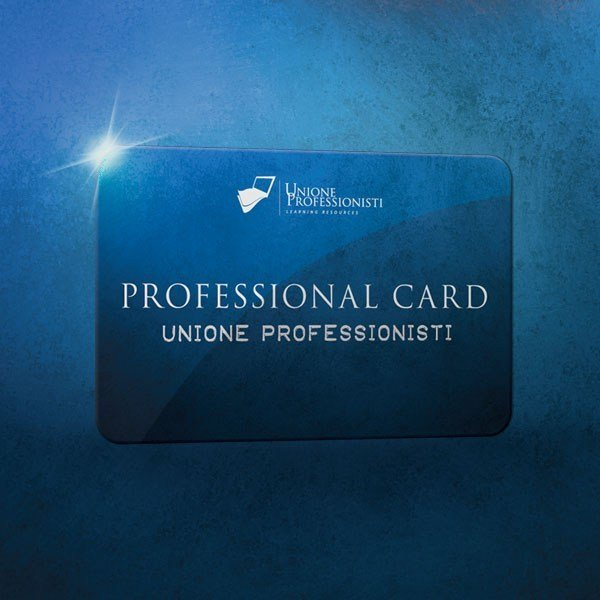 Professional Card Professional Card Formazione illimitata by UNIPRO
