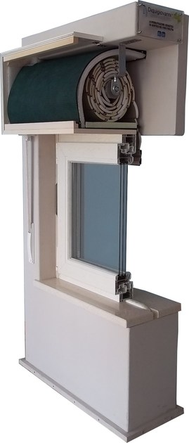 Box for roller shutter NEW LIFE - Diquigiovanni