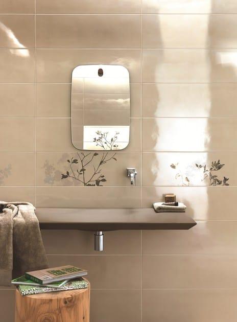Rivestimento in ceramica a pasta bianca handmade by ragno - Ragno rivestimenti bagno ...