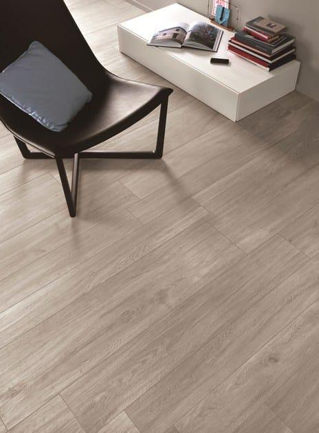 Pavimento in gres porcellanato effetto legno woodliving for Pavimenti ragno