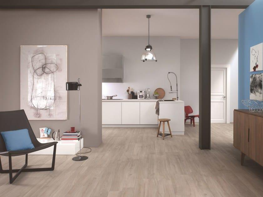 pavimento in gres porcellanato effetto legno woodliving ragno. Black Bedroom Furniture Sets. Home Design Ideas