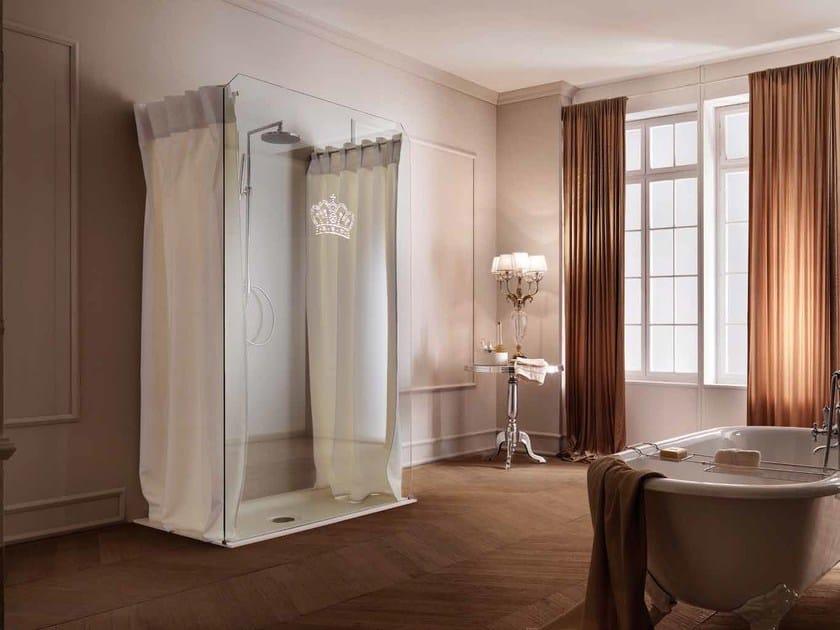 Box doccia tenda per doccia open samo - Mattonelle per doccia ...