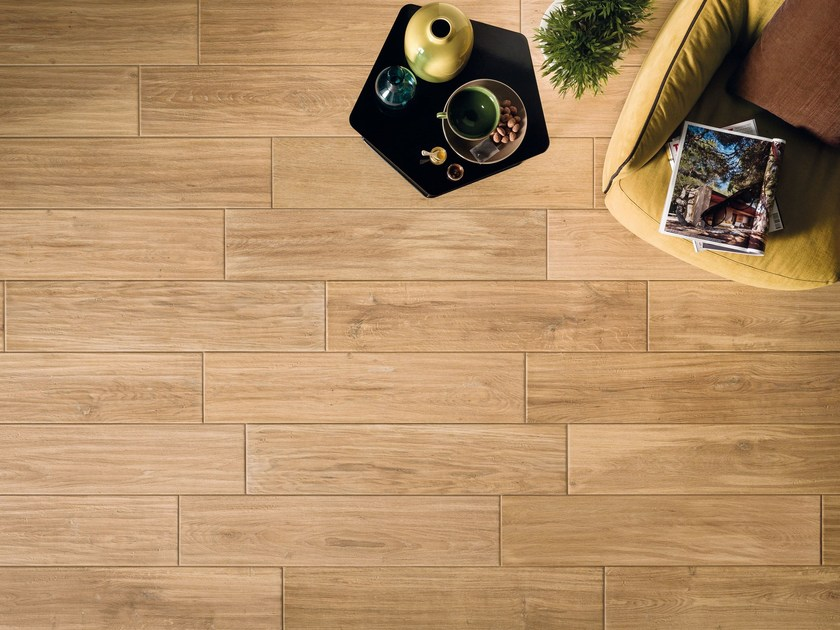 Porcelain stoneware flooring with wood effect ASSI D'ALPE | Flooring by Panaria Ceramica