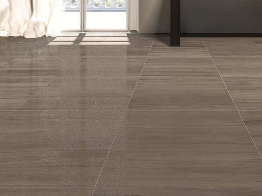 Glazed stoneware wall/floor tiles with marble effect MARBLELINE - MARAZZI