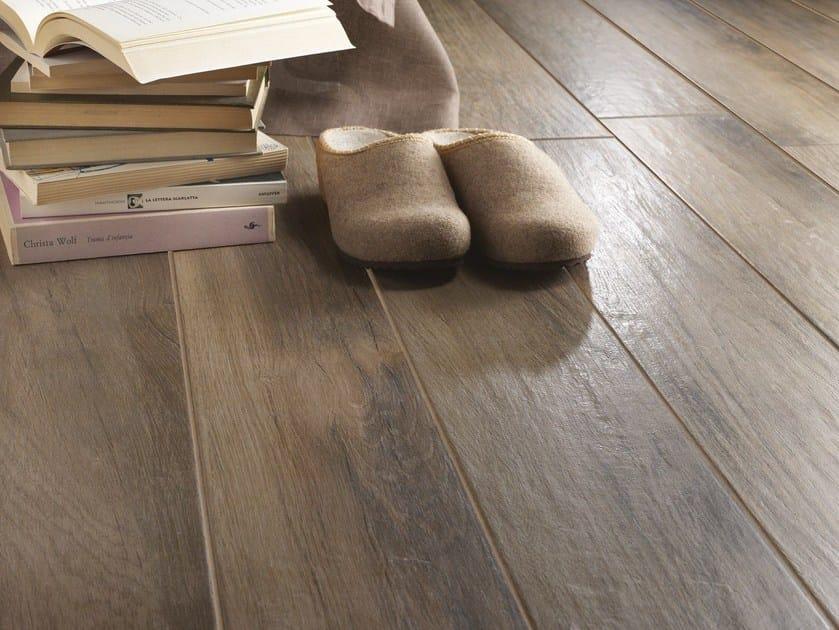Pavimento in gres porcellanato smaltato effetto legno treverkmood ...