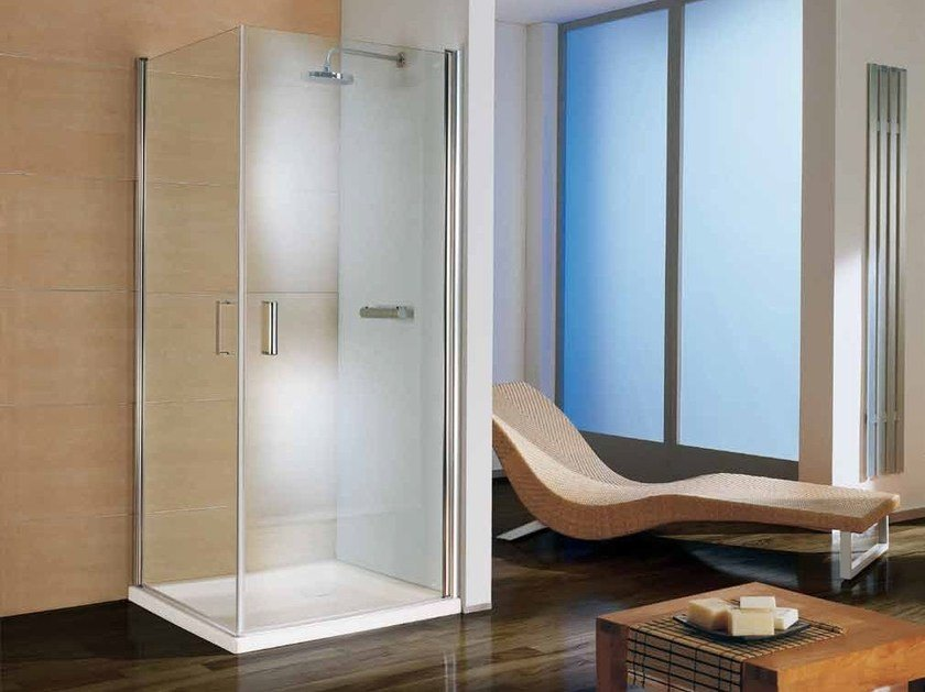 Corner shower cabin with tray POLARIS DREAM | Corner shower cabin by Samo