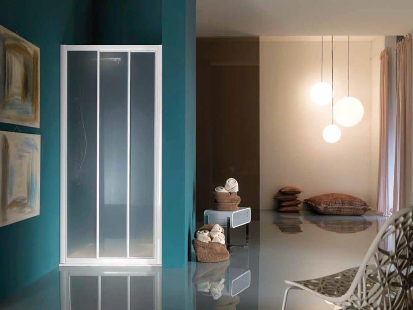 Niche shower cabin with sliding door AMERICA | Shower cabin with sliding door - Samo