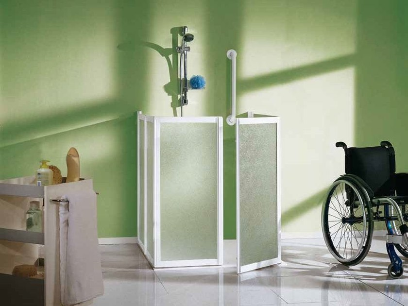 Accessible shower FLEX | Shower cabin - Samo