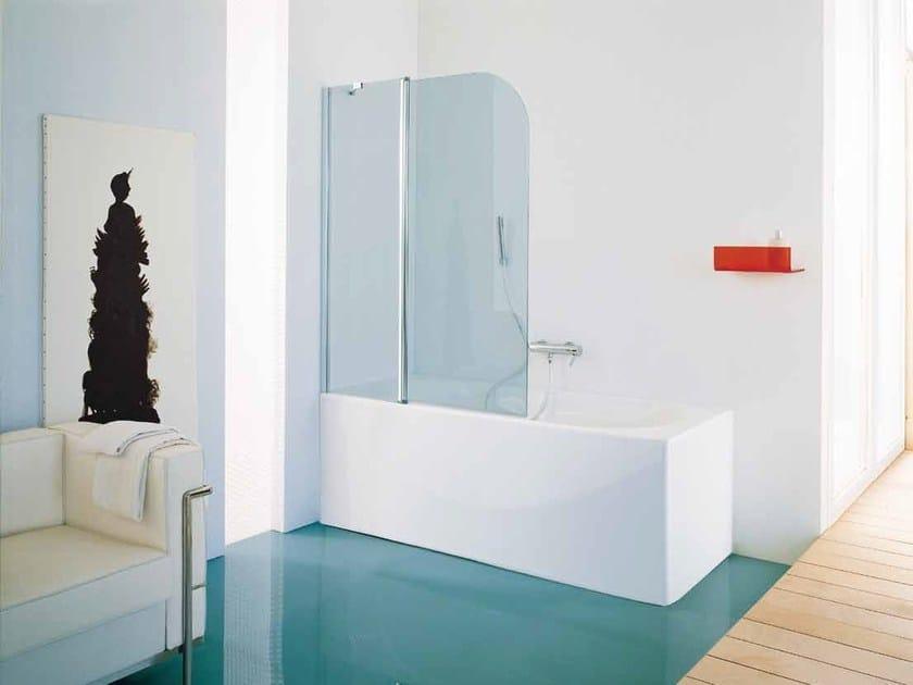 Glass bathtub wall panel ELECTRA - Samo