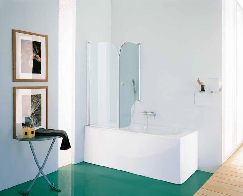 Parete Vetro Vasca Bagno : Parete per vasca in vetro CLASSIC Parete ...